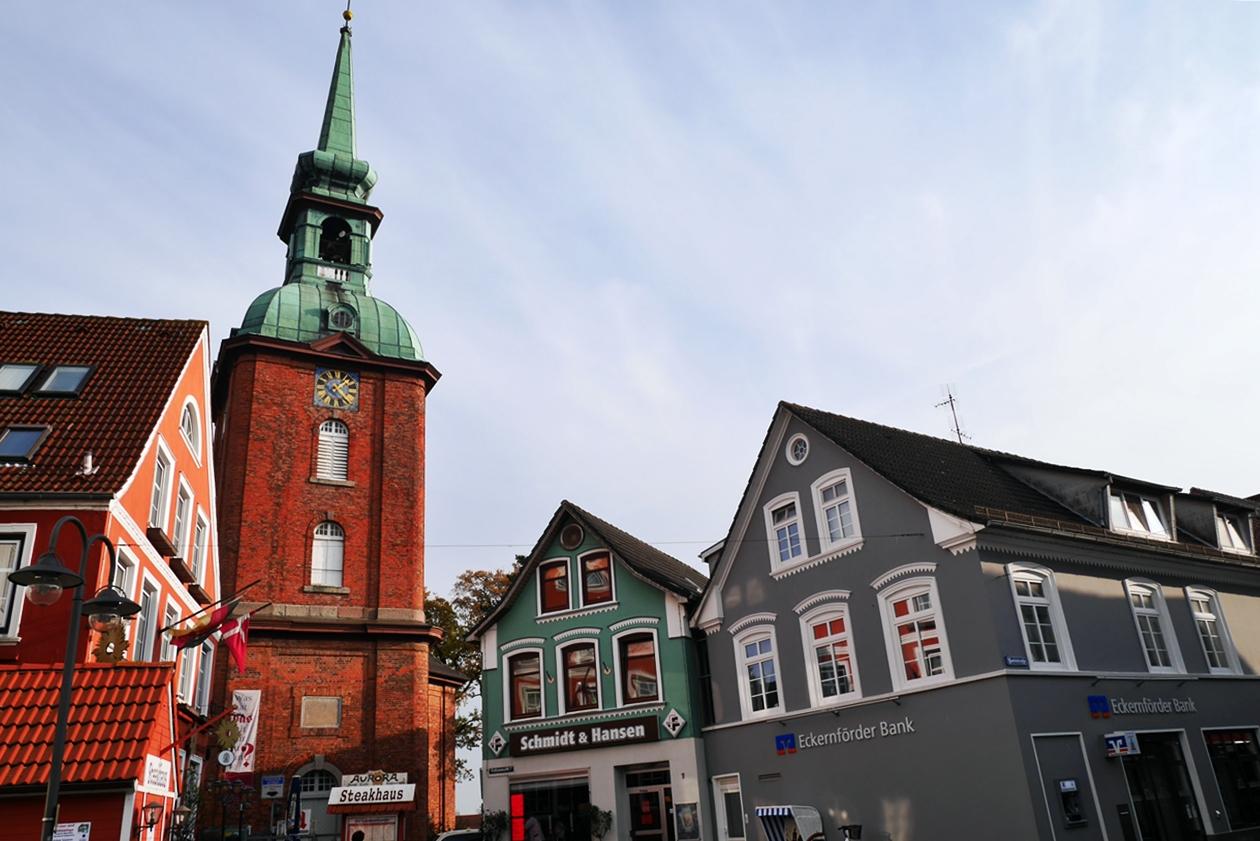 Historisch maritime Innenstadt von Kappeln an der Schlei