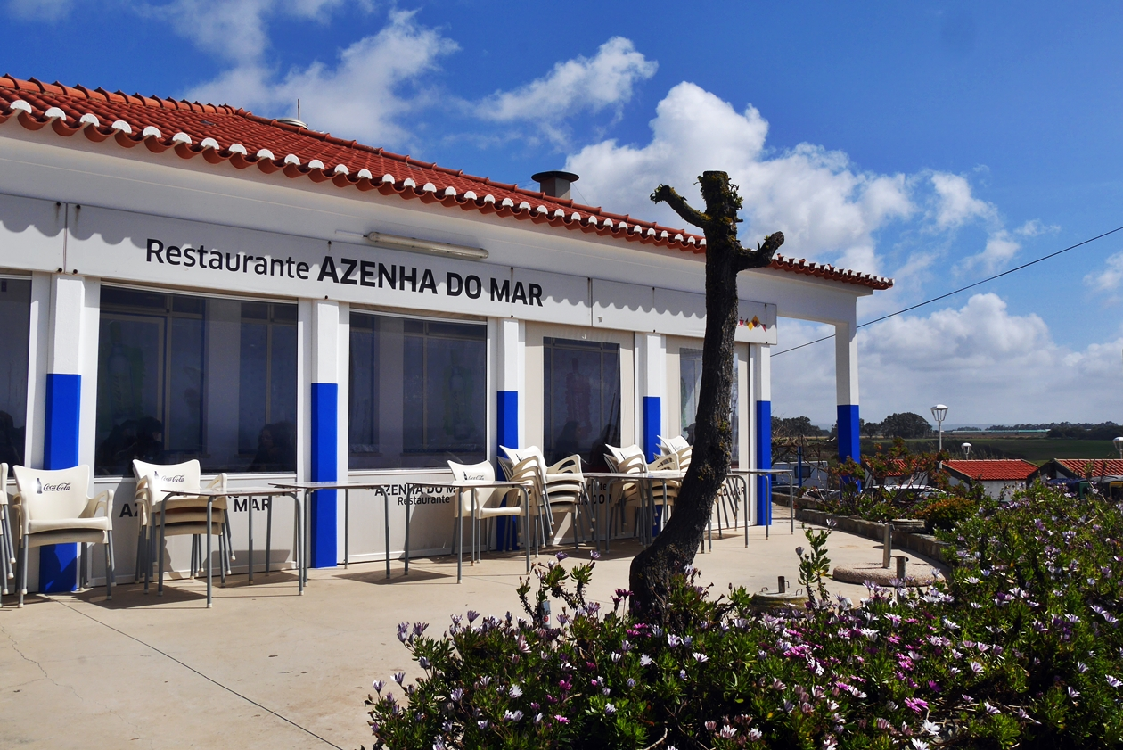 Gebäude des Restaurants Azenha do Mar