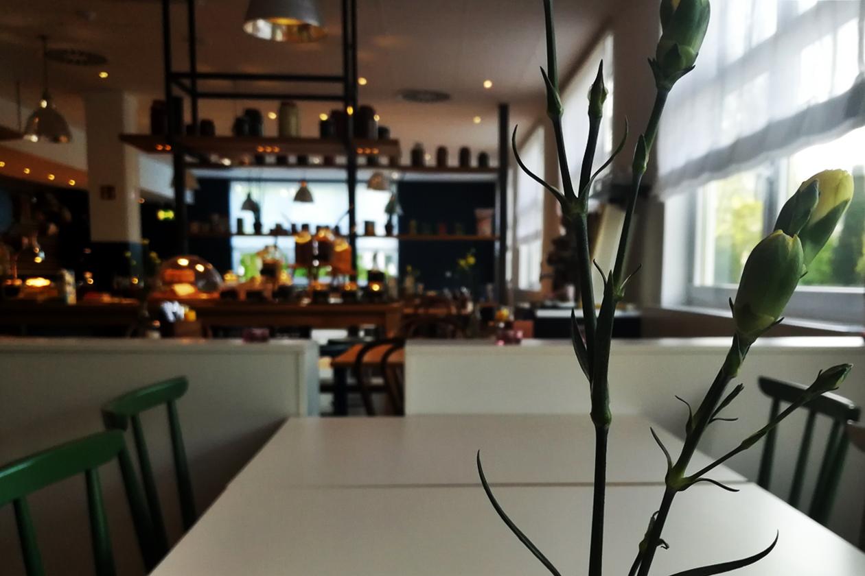 Frühstücksraum des Vienna House Easy in Neckarsulm