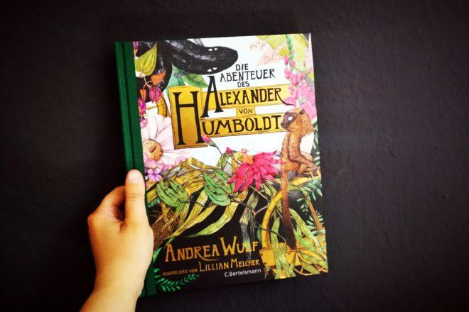 Cover des Buches die Abenteuer des Alexander von Humboldt