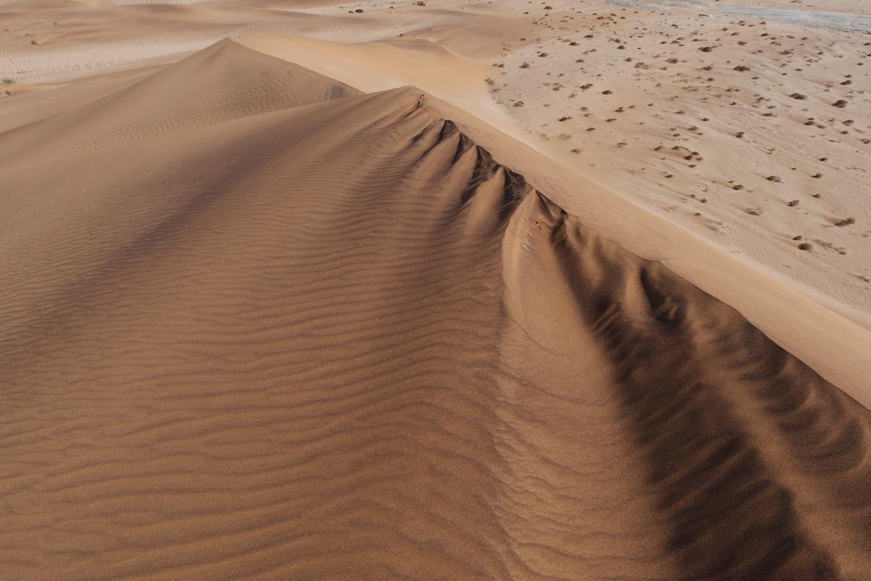 Düne in der Namib Wüste bei Swakopmund