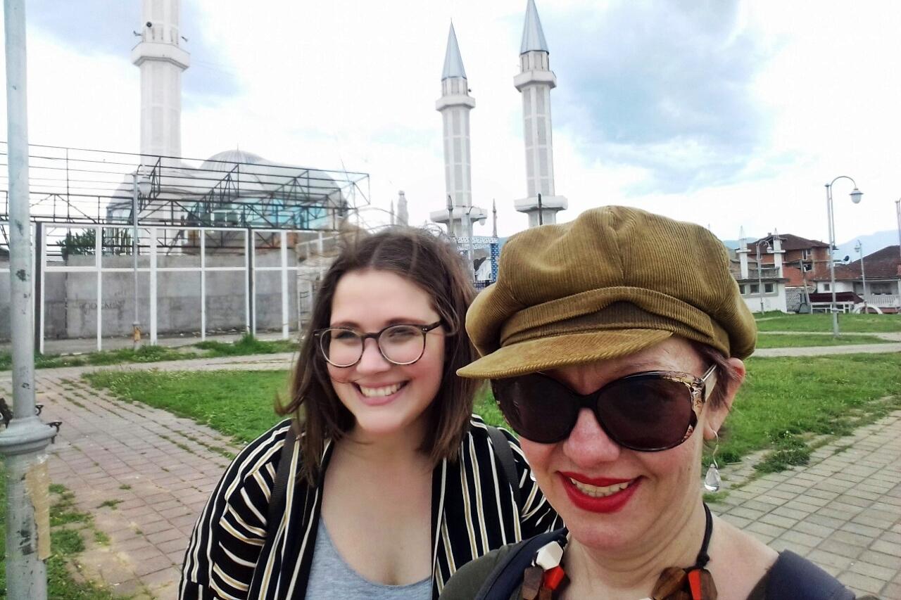 Selfie mit Vasilka von HAEMUS Travel und mir