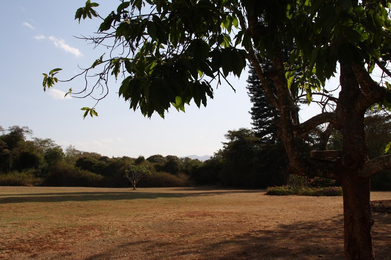 Blick über die Ngongberge, von dem ehemaligen Farmhaus von Karen Blixen in Nairob