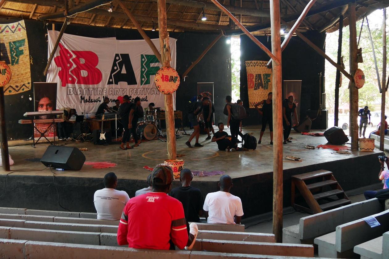 Das Blantyre Arts Festival in Blantyre, Malawi