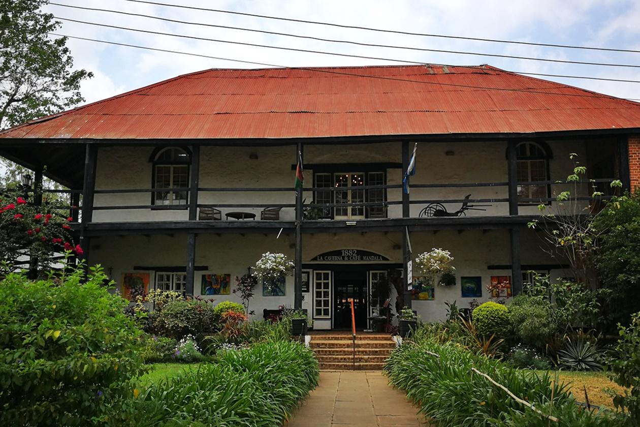 Auch das Mandala House, das älteste Gebäude Blantyres, ist Teil meiner 5 Tipps für Blantyre und Umgebung