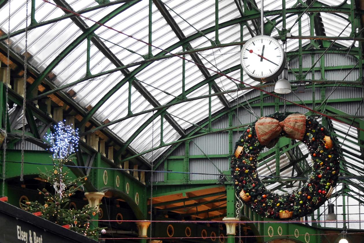 Der Borough Market in London gehört zu meinen Highlights was die weihnachtliche Stimmung angeht