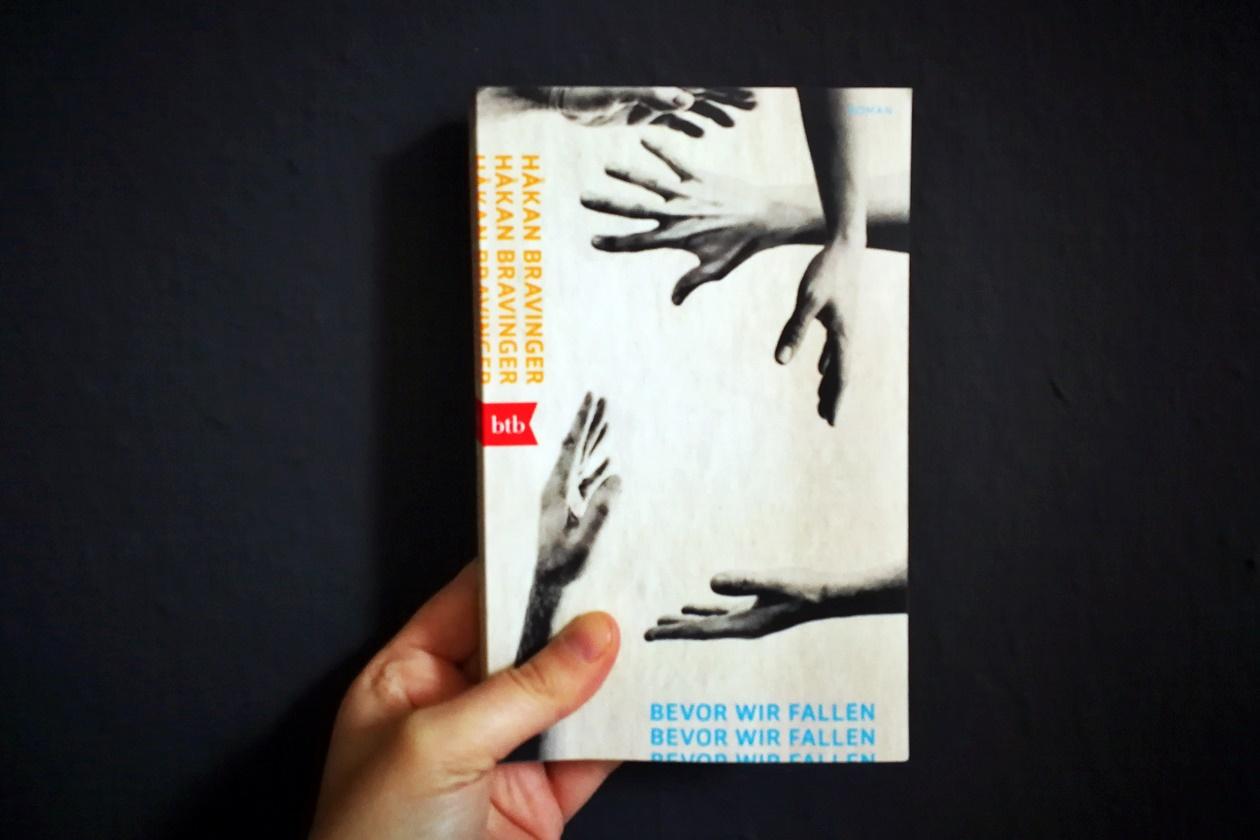 Cover des Buches Bevor Wir Fallen von Hakan Bravinger