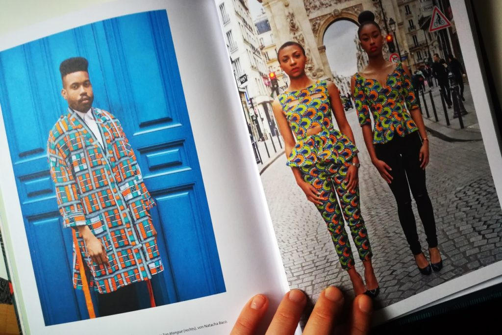Blick in das Buch WAX - Die Farben Afrikas