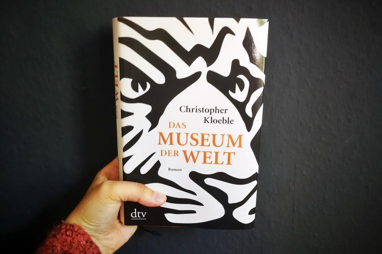 Cover des Buches Das Museum der Welt von Christopher Kloebel