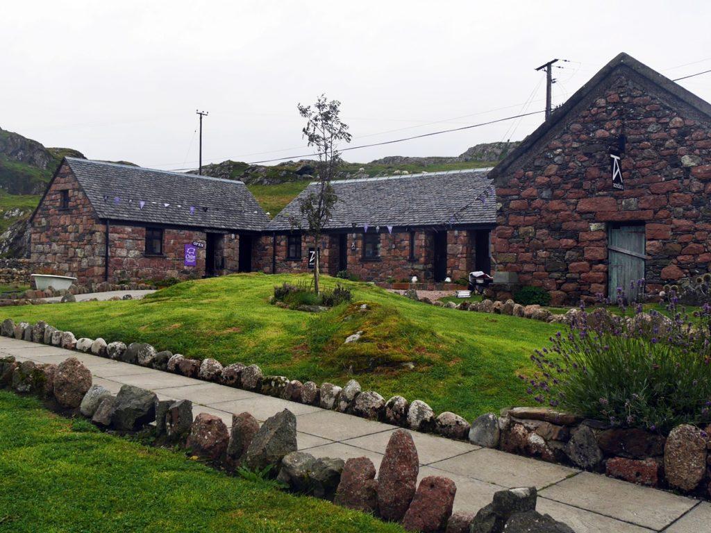 Backsteingebäude in Schottland
