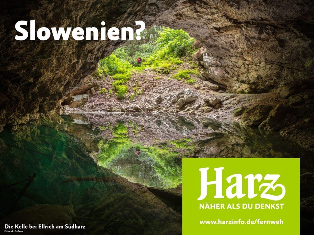 Die Kelle bei Ellrich  im Südharz weckt Fernweh Harz