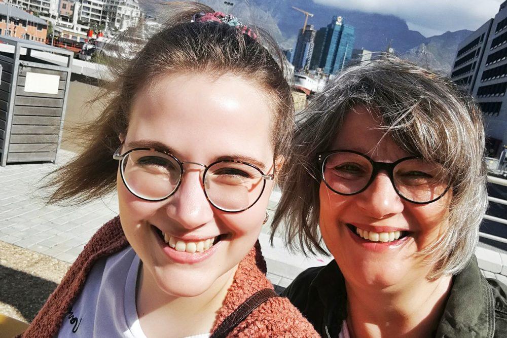 Auf Reisen mit Mama gehören Selfies für uns dazu