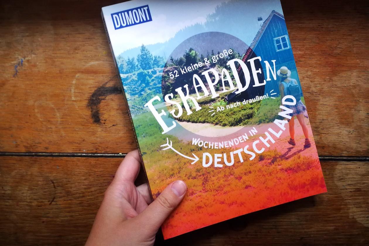 Cover des DuMont Bildbandes 52 kleine & große eskapaden - ab nach draußen! Wochenenden in Deutschland