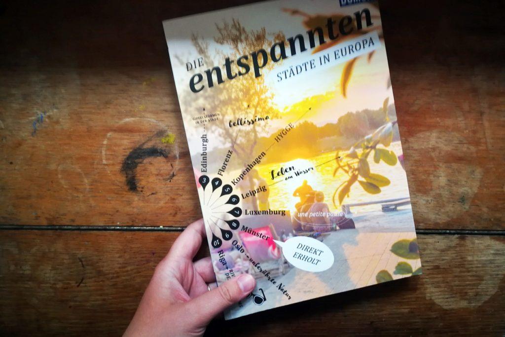 Cover des Buches Die Entspannten: Städte in Europa