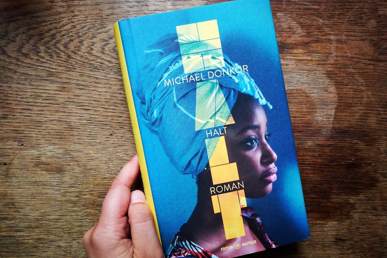 Cover des Buches Halt von Michael Donkor