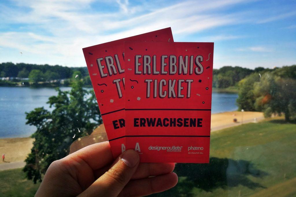 Erlebnisreif Tickets für den Besuch im phaeno, der Autostadt und den Designer Outlets Wolfsburg.