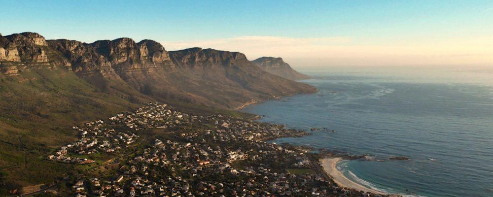 Blick vom Lions Head auf die Zwölf Apostel in Kapstadt