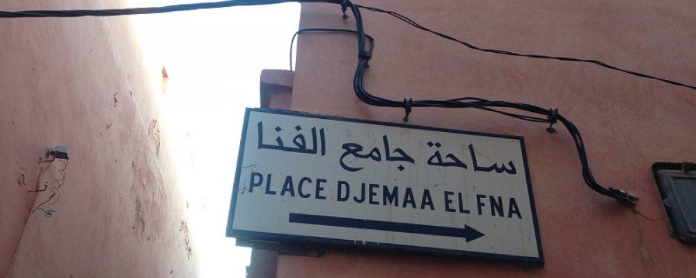 Djeema El-Fna, Marrakesch, Marokko
