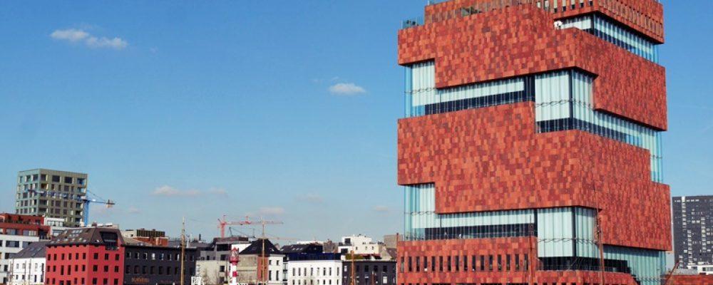 Das MAS in Antwerpen von außen