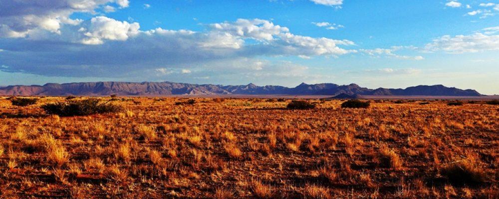 Endlose Weiten in Namibias Namibrand Gebiet